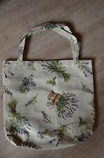 XXL Gobelin Tasche ♥ große Einkaufstasche ♥ Sporttasche Shopper ♥ Lavendel NEU