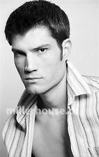 Lenox Fontaine Original B&W 35mm Film Negative Male Model Gay Interest Photo #2