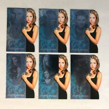 BUFFY THE VAMPIRE SLAYER REFLECTIONS Complete SLAYER'S JOURNAL Chase Card Set