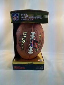 The Duke Authentic WTF1100IDBRS NFL Game Football Wilson Read Description Auto!