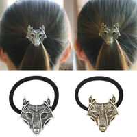 Fashion Jewelry North Vikings Wolf Hair Bands Celtic Style Elastic Tribal   Fy