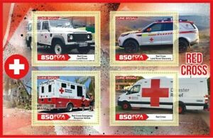 Stamps Medicine Red Cross Cars