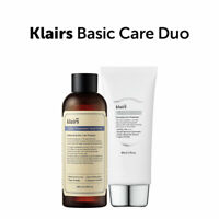 [Klairs] Basic Care Duo/ Supple Toner + UV Essence/ Vegan Sunscreen