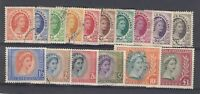 GB QEII Rhodesia & Nyasaland 1954 Set to £1 VFU J1264