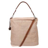 XL Große Damen Tasche Schultertasche Umhängetasche Shopper Leder Optik Rosa NEU