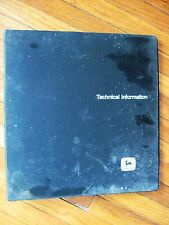 John Deere Trailfire Snowmobile Technical manual