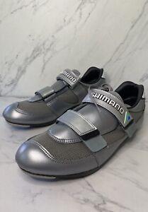 Shimano Mens Cycling Road Bike Shoes Cleats SH-R110 Size 45 US 11 men BNIB