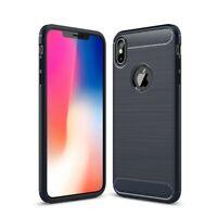 Apple IPHONE XS Max Étui Coque Téléphone Portable Protection Pochette de Carbone