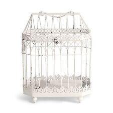 White Decorative Conservatory Birdcage Card Box Wishing Well Wedding or Shower