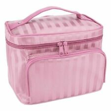 Large multiplepockets Cosmetic Case Makeup Bag Storage Handle Organizer Travel