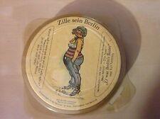 12 HEINRICH ZILLE Sein Berlin German Beer Coasters COMPLETE Rare EROTICA NIP EUC