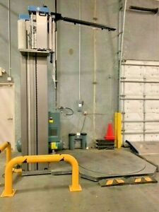 2019 Cousins LP-SWA Automatic Stretch Pallet Wrapper X-Tall with Ramp and Remote