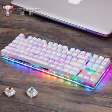 Original Motospeed K87S Gaming Mechanical Keyboard USB Wired 87 keys with RGB