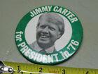 JIMMY CARTER FOR  PRESIDENT IN '79 PINBACK  BUTTON  LARGE   VINTAGE ORIGINAL