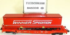 Fleischmann 845338 Pocket Wagon Sdgkkms Winner Spedition Db Ag Nip HQ5 Μ