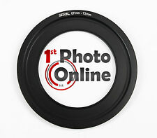 67mm Lee Compatible Wide Angle Ring Fits 4x4 100mm Holders, will hold 72mm CPL