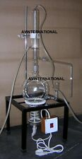 5000 ML Glass Distillation Apparatus  With Complete  Accessories