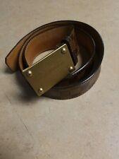 Louis Vuitton Mens Belt W/buckle. Size 40