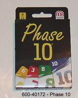 600-40172-  Phase 10 - Basis - Kartenspiel von Mattel - Neu OVP