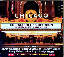 CHICAGO BLUES REUNION -BURIED ALIVE IN THE BLUES - CD + DVD - B.GOLDBERG, MANDEL