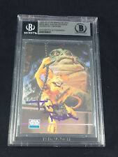 TIM ROSE SALACIOUS CRUMB TOPPS CARD STAR WARS SIGNED AUTOGRAPHED BAS BECKETT BGS