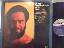 GROVER WASHINGTON JR. ALL THE KINGS HORSES LP ON MOTOWN RECORDS LOTS OF GUESTS
