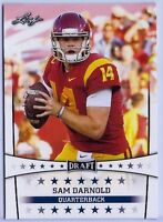 """NEW"" SAM DARNOLD 2018 LEAF DRAFT ROOKIE CARD! USC TROJANS / NY JETS!"