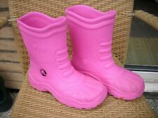 Crocs Ladies Pink Wellies  Size 5 / 6  Medium