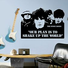 The Stone Roses Ticket Quote VInyl wall art sticker room decal music quote