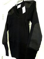 Rothco Super Warm Acrylic Black V Neck G.I Type Sweater  Men's S,M,L,XL