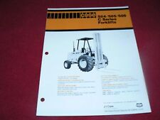 Case 584C 585C 586C Construction King Backhoe Dealer's Brochure UD79477
