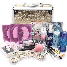 False Mink Eye Lashes Individual Eyelash Extension Glue Removal Tools Kit Case
