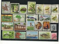 D153378 Malawi Nice selection of VFU Used stamps