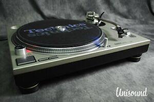 Technics SL-1200 MK6 Silver Direct Drive DJ Turntable w/Original Box [Excellent]