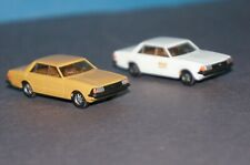 BOX26/14] 2x Herpa 1/87 Ford Granada Ghia 2.8 z.B. weiß British Airways s.Bilder