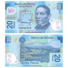 Mexico 20 Pesos 2016 P-New Polymer Banknotes UNC