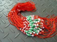 string cord rope for pendant W170 5Pcs Natural Jade Jadeite beads Red Circle