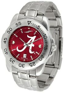 Officially Licensed Men's Alabama Crimson Tide Sport Watch (Pick Your Style)