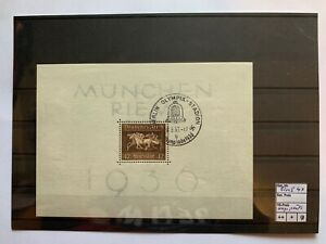 Deutsches Reich, Block 4 X, gestempelt, ungeprüft