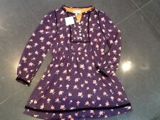 NWT Juicy Couture New & Genuine Purple Floral Lined Party Dress Girls Age 10