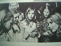 ephemera 1974 kent Picture Susan Hampshire Meets Fans