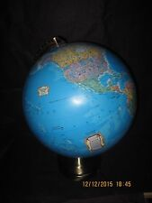 "Earth and Constellations 12"" Illuminated World Globe by SEGERO"