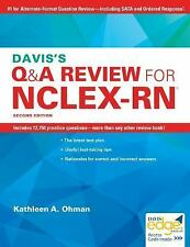 Davis's Q&A Review for the NCLEX-RN® Examination by Kathleen A. Ohman (2017, Pa…