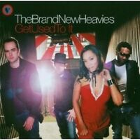 """THE BRAND NEW HEAVIES """"GET USED TO IT"""" CD NEU"""