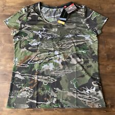 Under Armour Threadborne HeatGear Early Season Hunting Camo Shirt XL