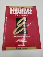 Essential Elements For Strings Viola Book 1 - Hal Leonard - Free Shipping