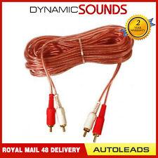 Autoleads PC1-150 Voiture Amplificateur Rca Phono Câble (5 Mètre)