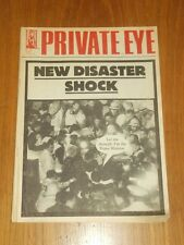 PRIVATE EYE #707 20TH JANUARY 1989 POLITICAL