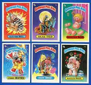 Lot of 12 Diff: 1985 Topps GLOSSY Garbage Pail Kids Series 1 ~ Dead Ted ~ READ: