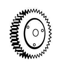 Fibre Gear , For Berkel 180 Slicer Oem # A-03001-5L